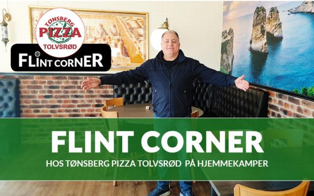Flint Corner hos Tønsberg Pizza