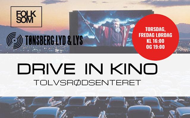 Drive-in-kino – vi trenger parkerings- og nattevakter!
