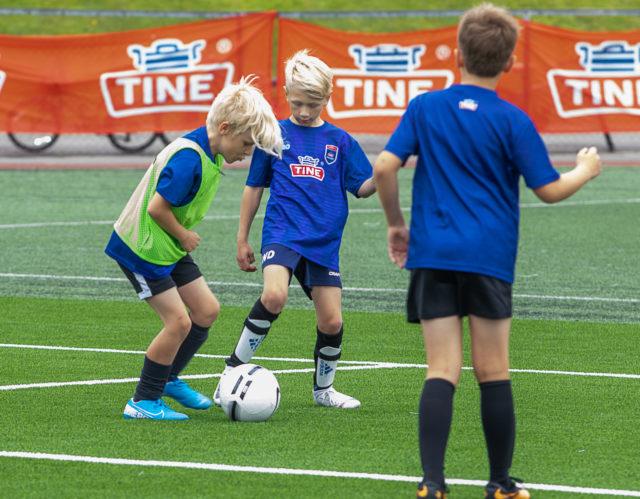 Flint kåret til Årets TINE Fotballskole i Vestfold 2020