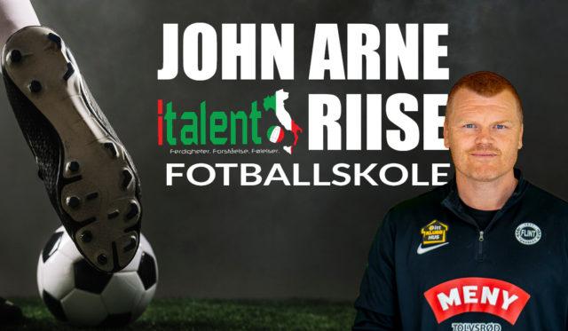 John Arne Riise og Italent fotballskole