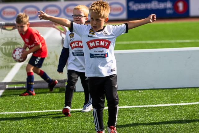 Fotballfest med 6-åringene!