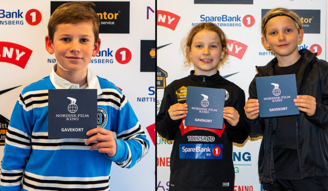 FairPlay-lotteriet 2020: William, Julia og Rasmus beste loddselgere!