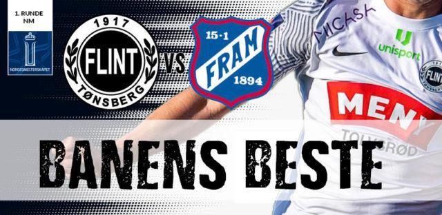 Stem på Banens Beste   Flint – Fram