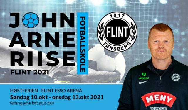 John Arne Riise Fotballskole i høstferien