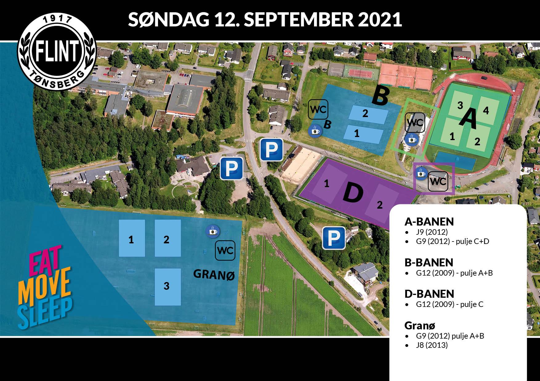 Banekart EMS - 2021- søndag