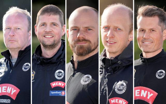 Fem Flint-trenere nominert til Årets Grasrottrener