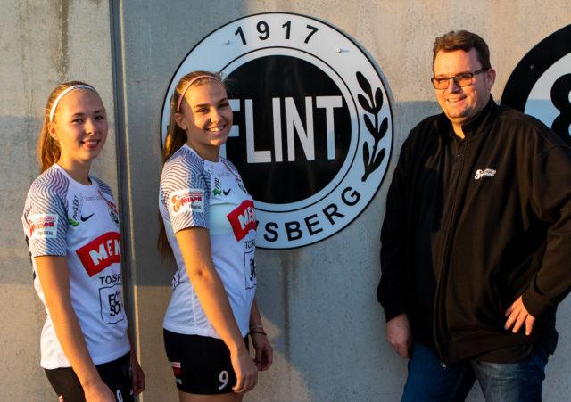 Skousen Tønsberg – stolt sponsor av Flint A-damer